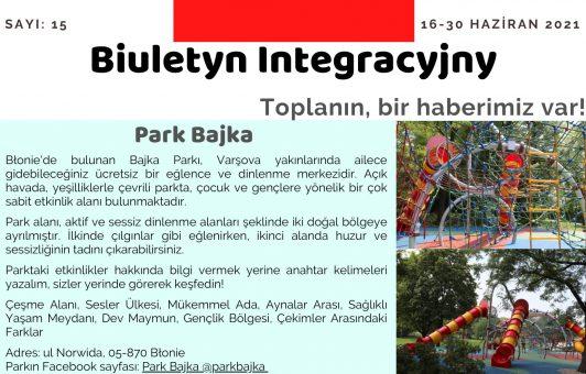 Biuletyn Integracyjny 16-30 Haziran